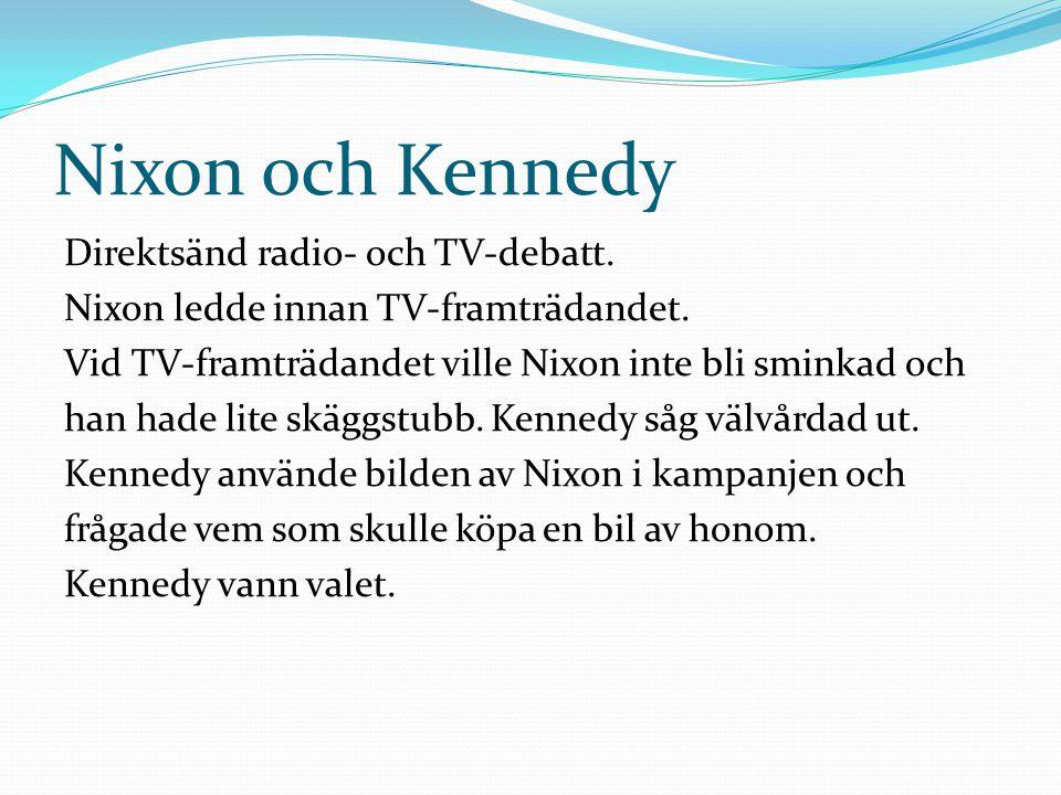 Nixon och Kennedy