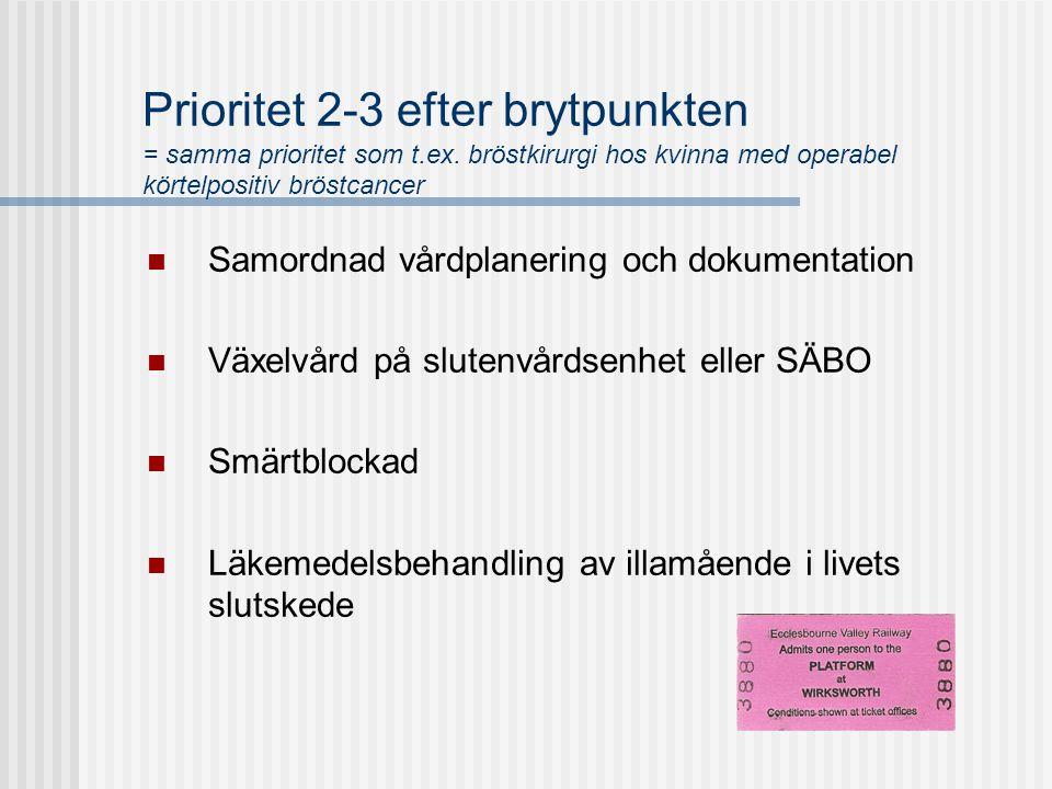 Prioritet 2-3 efter brytpunkten = samma prioritet som t. ex