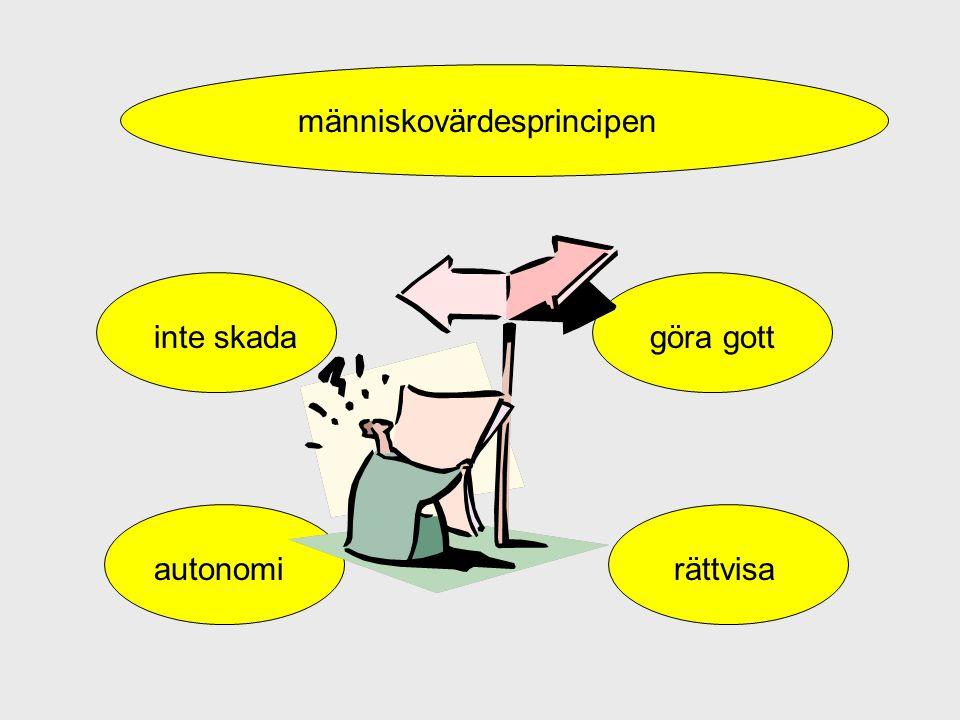 människovärdesprincipen