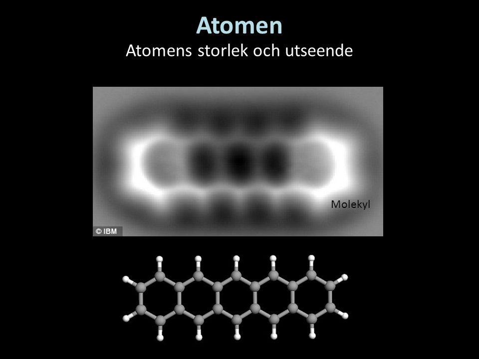 Atomens storlek och utseende
