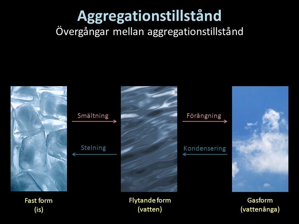 Aggregationstillstånd