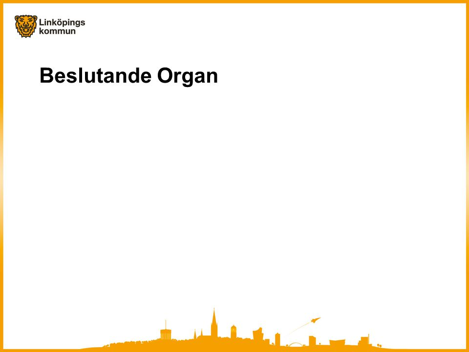 Beslutande Organ