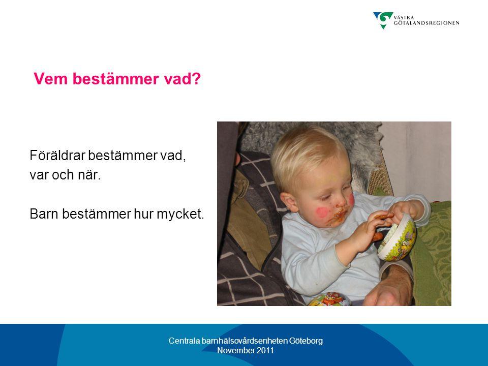 Centrala barnhälsovårdsenheten Göteborg