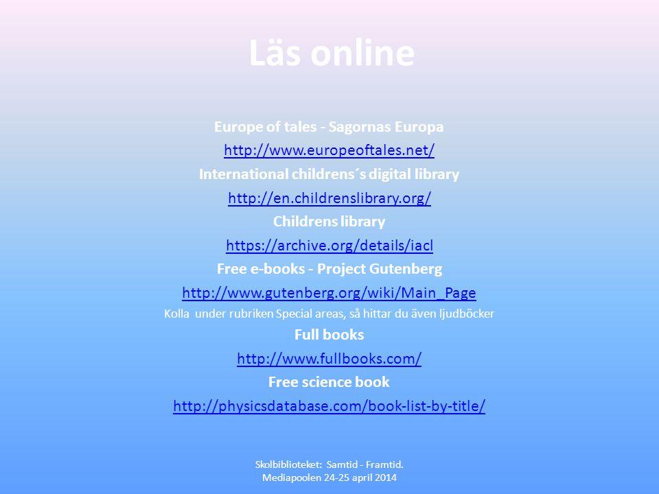 Läs online Europe of tales - Sagornas Europa