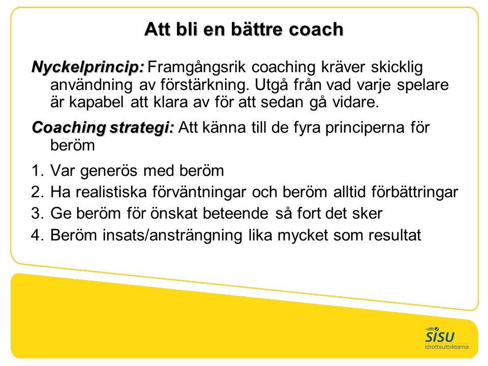 Att bli en bättre coach