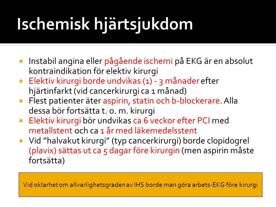 Ischemisk hjärtsjukdom