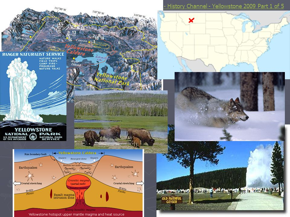 YouTube - History Channel - Yellowstone 2009 Part 1 of 5