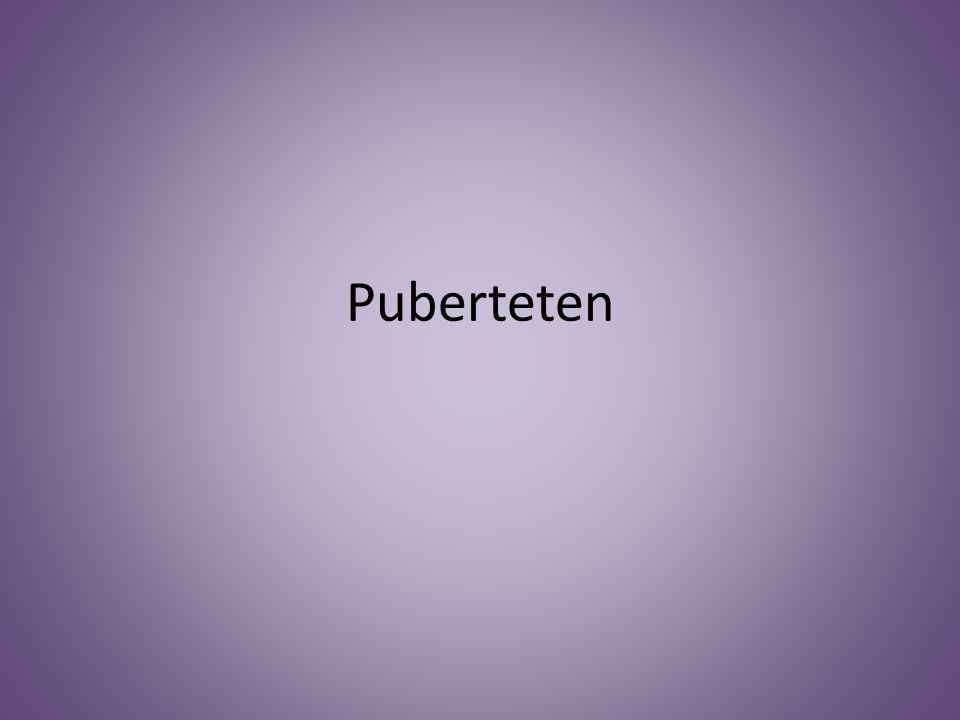 Puberteten