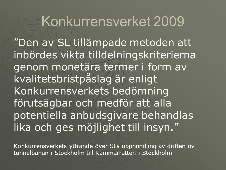 Konkurrensverket 2009