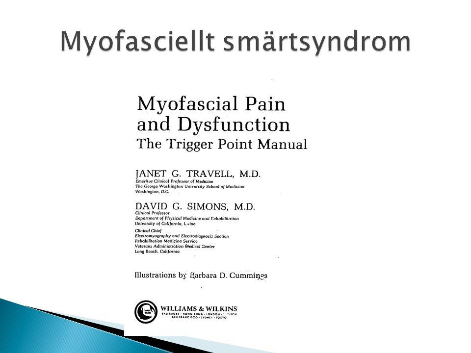 Myofasciellt smärtsyndrom
