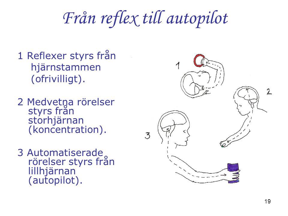 Från reflex till autopilot