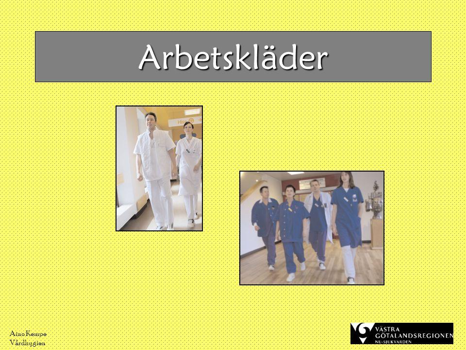 Arbetskläder Aino Kempe Vårdhygien
