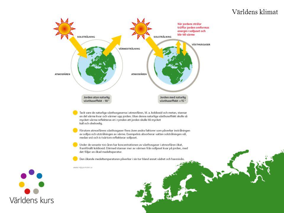 Världens klimat