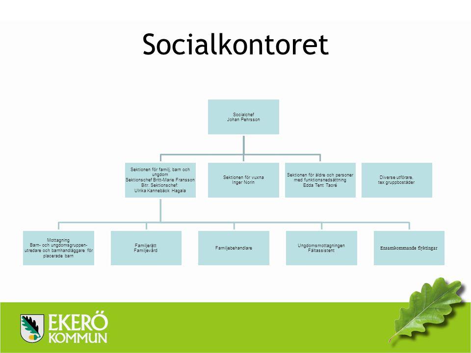 Socialkontoret Socialchef Johan Pehrsson