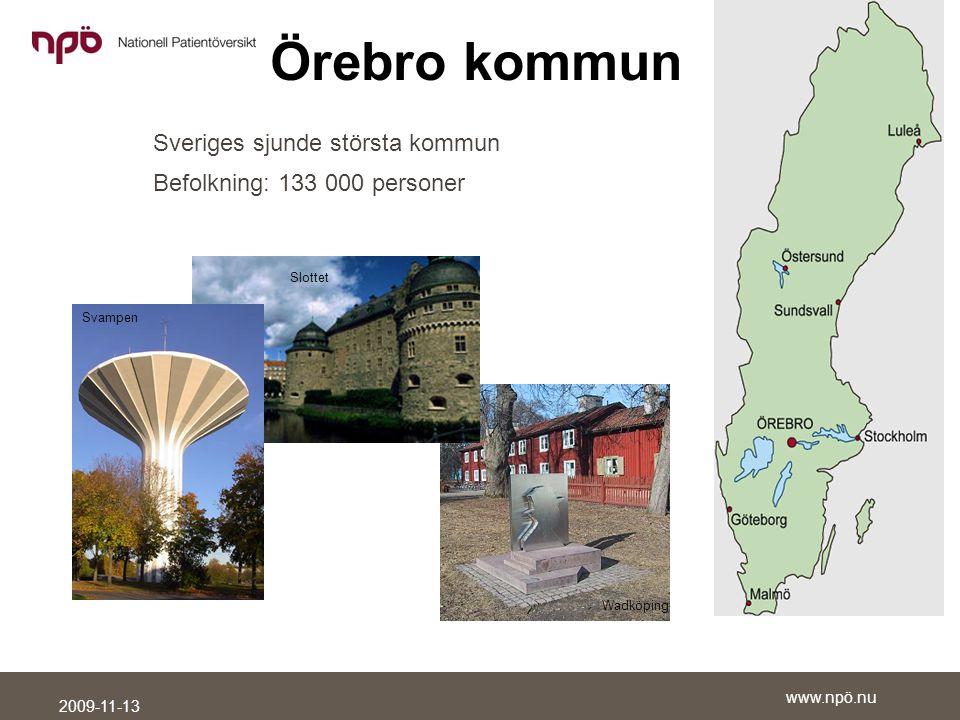 Sveriges sjunde största kommun Befolkning: 133 000 personer