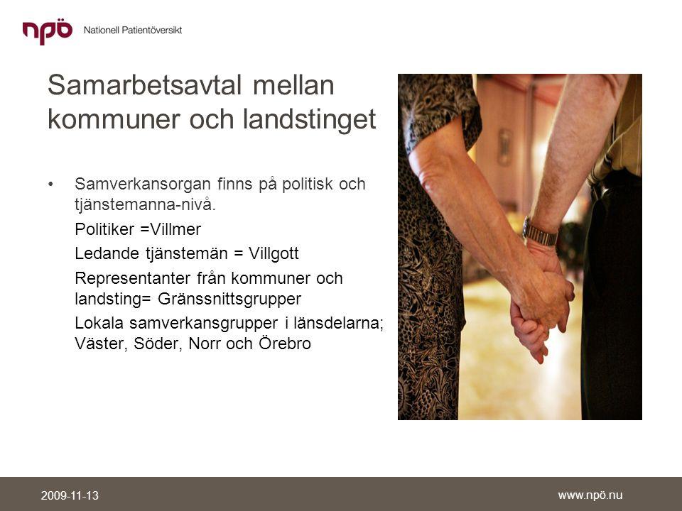 Samarbetsavtal mellan kommuner och landstinget