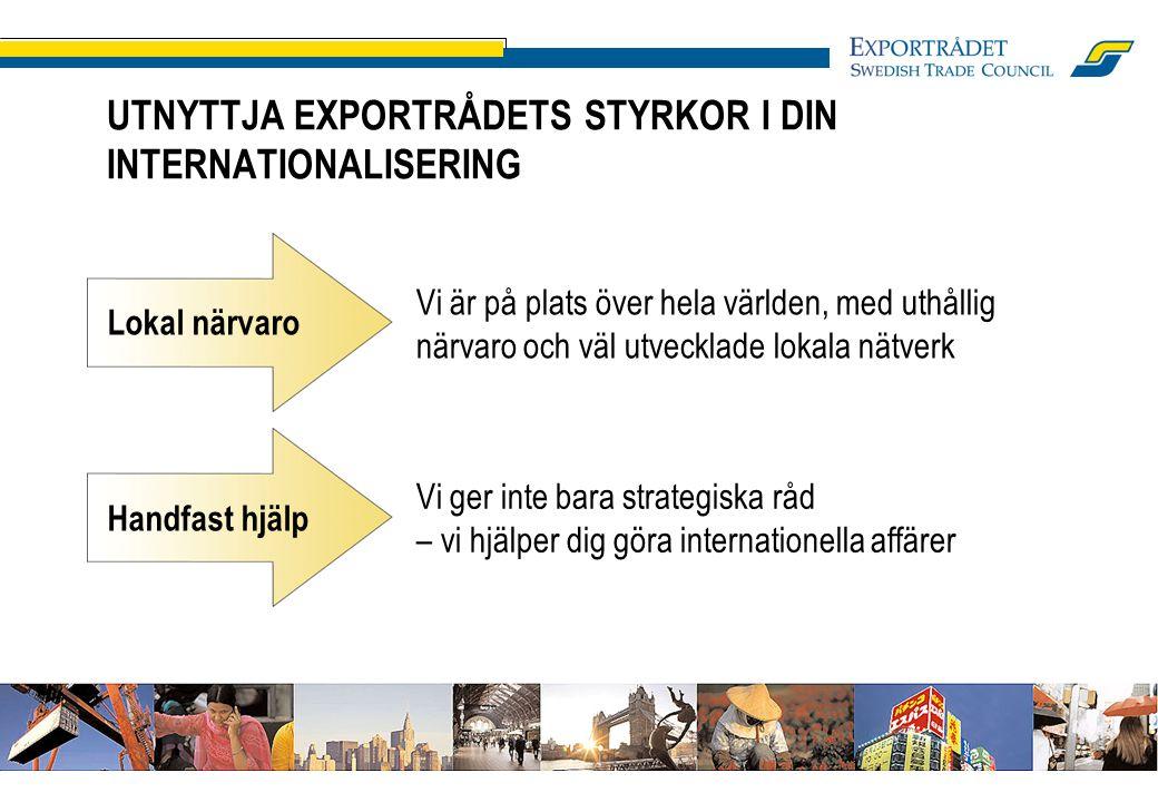 Det är inte svenska affärsidéer som är för små, det är Sverige som är för litet.
