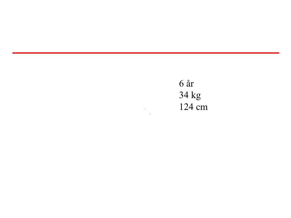 6 år 34 kg 124 cm