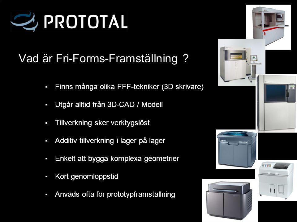 Vad är Fri-Forms-Framställning