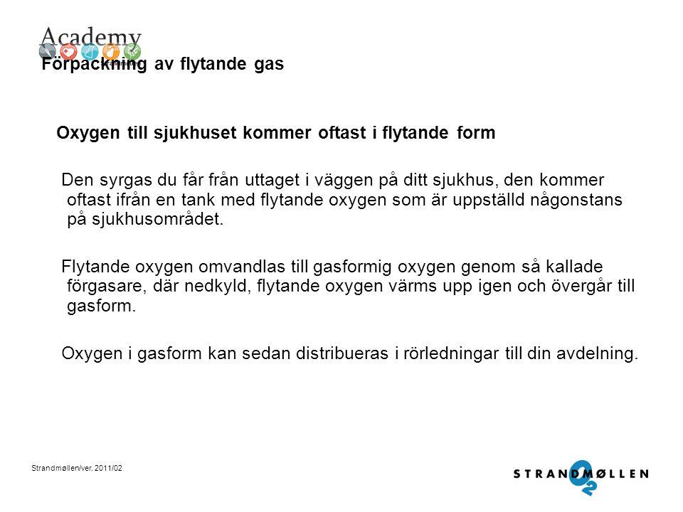 Förpackning av flytande gas