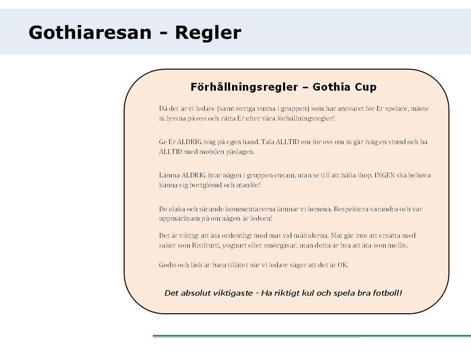 Gothiaresan - Regler