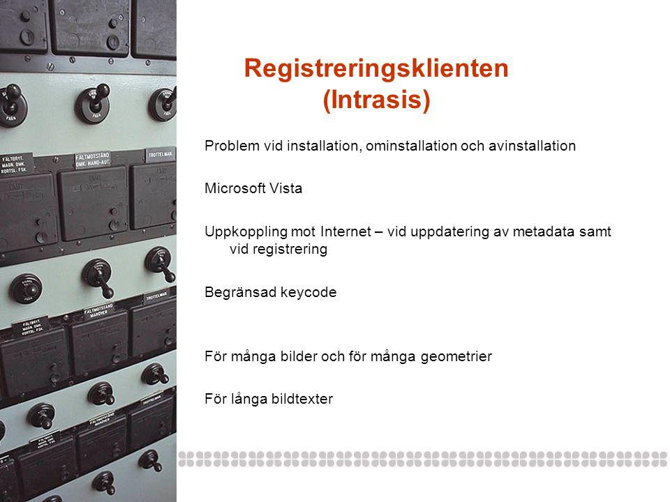 Registreringsklienten (Intrasis)