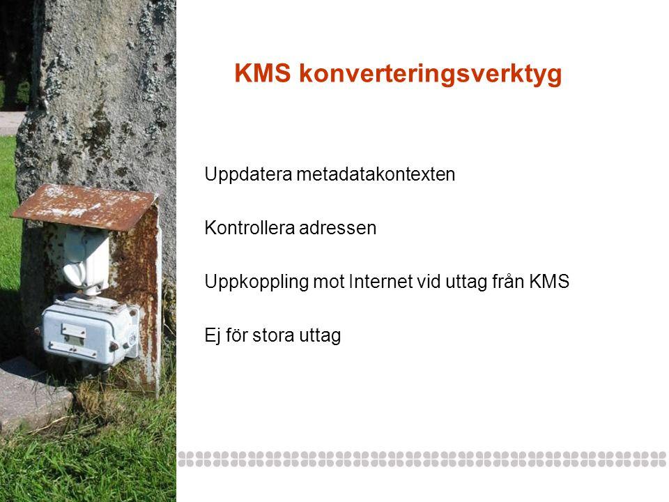 KMS konverteringsverktyg