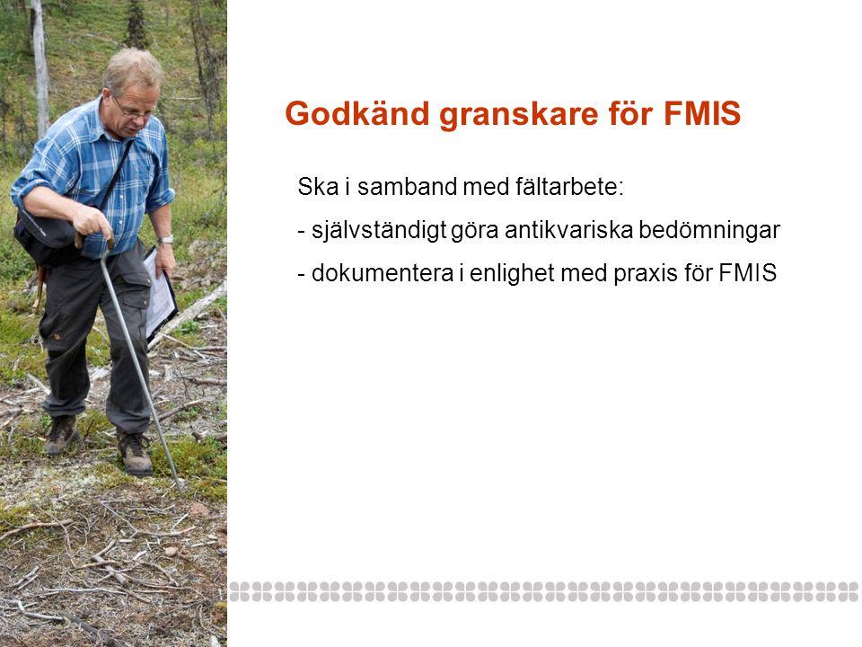 Godkänd granskare för FMIS