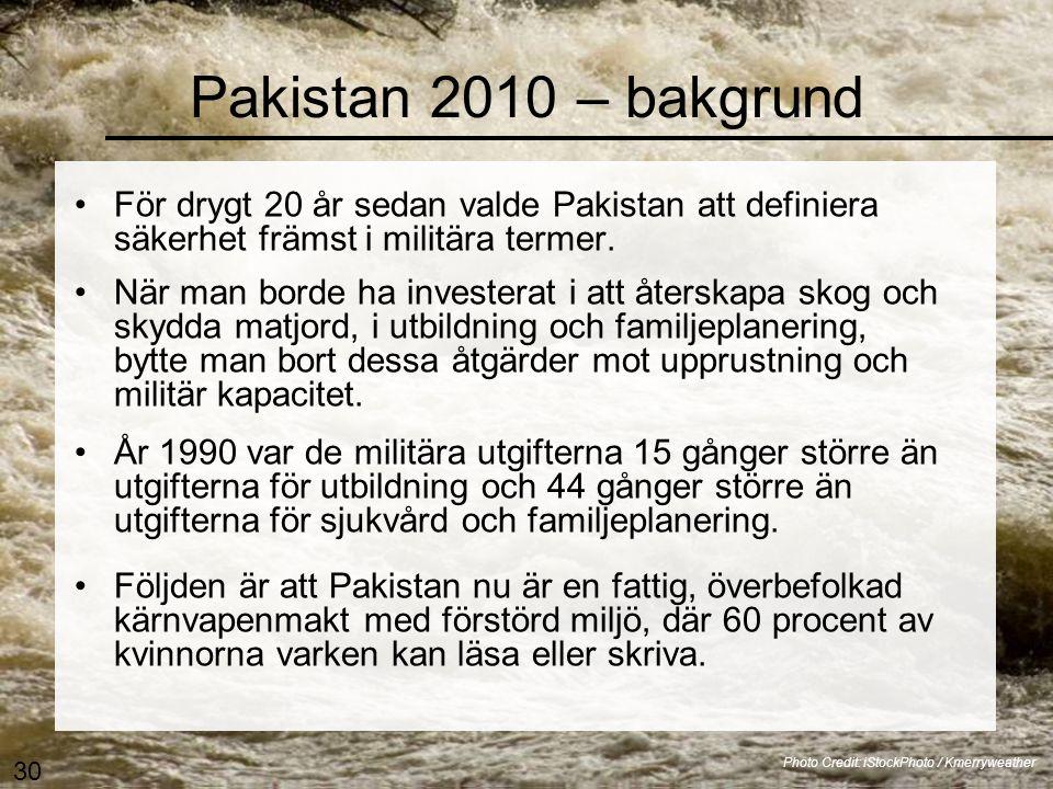 Pakistans översvämning 2010