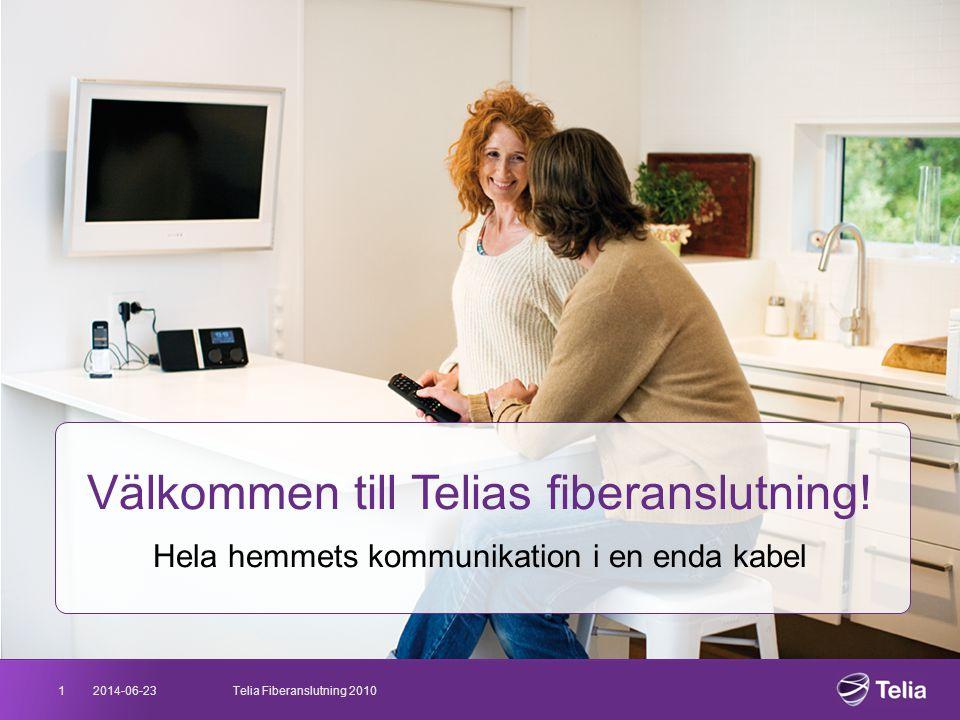 Välkommen till Telias fiberanslutning!