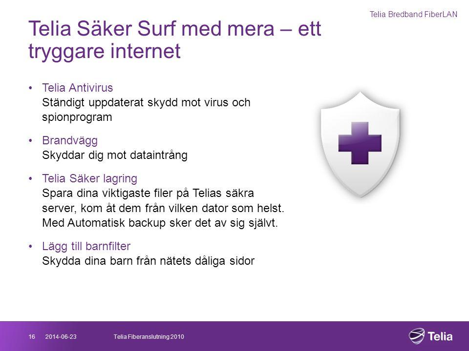 Telia Säker Surf med mera – ett tryggare internet