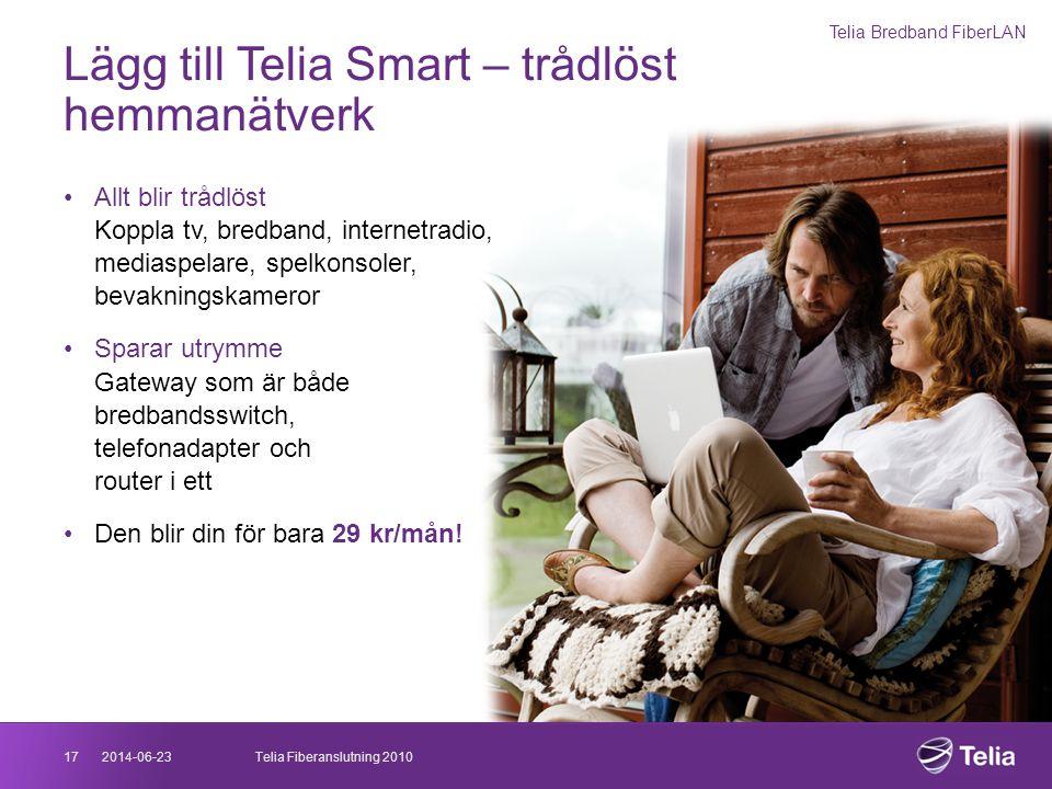 Lägg till Telia Smart – trådlöst hemmanätverk