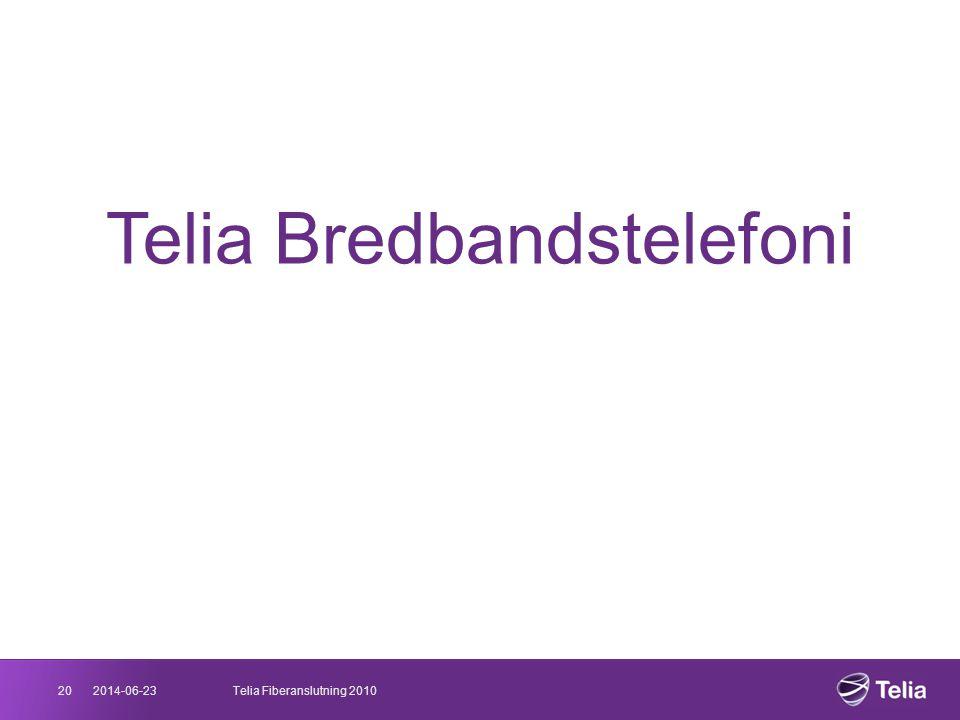 Telia Bredbandstelefoni