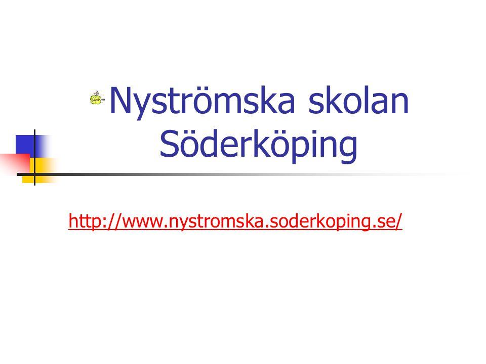 Nyströmska skolan Söderköping