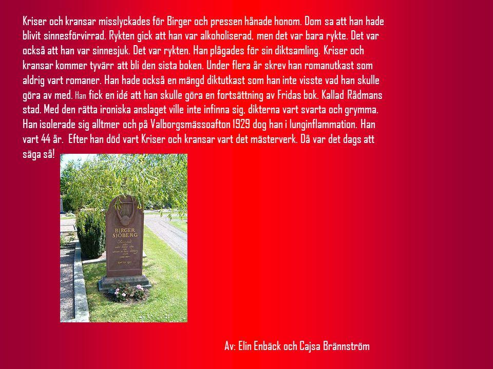Kriser och kransar misslyckades för Birger och pressen hånade honom