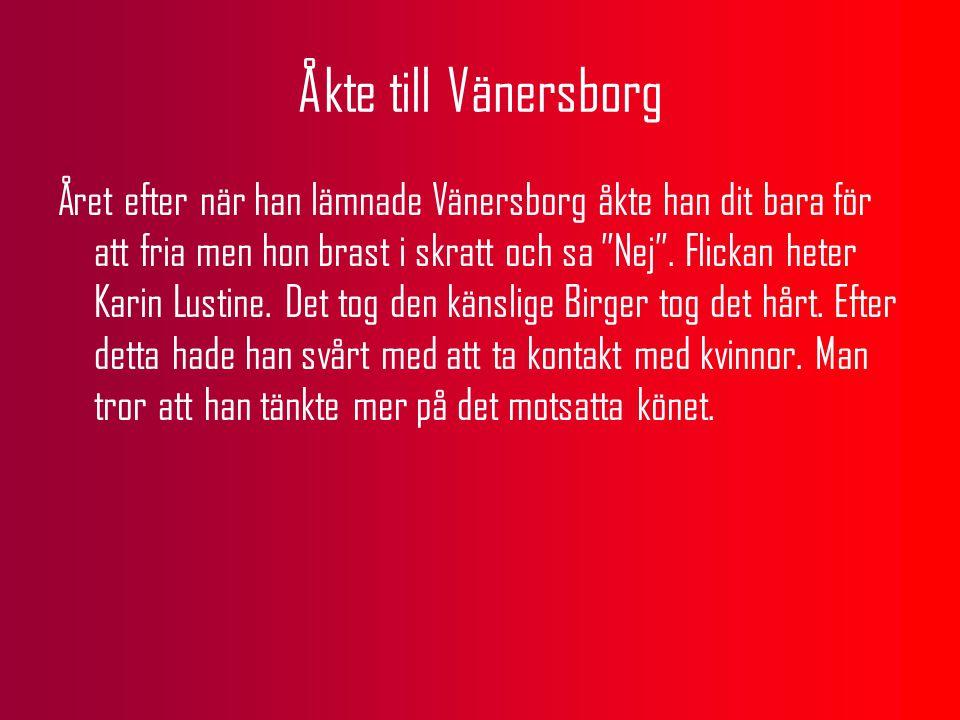Åkte till Vänersborg