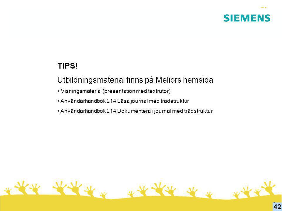 Utbildningsmaterial finns på Meliors hemsida