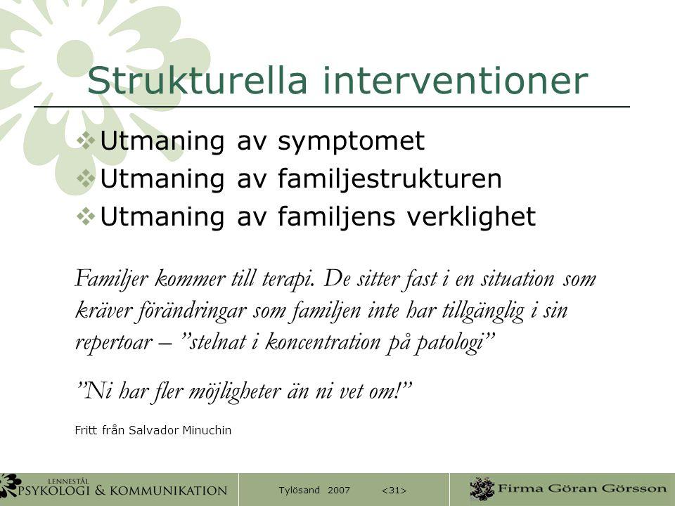Strukturella interventioner