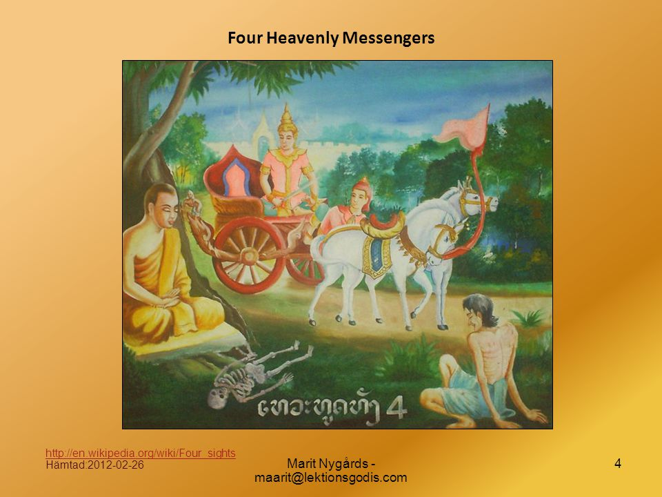 Four Heavenly Messengers