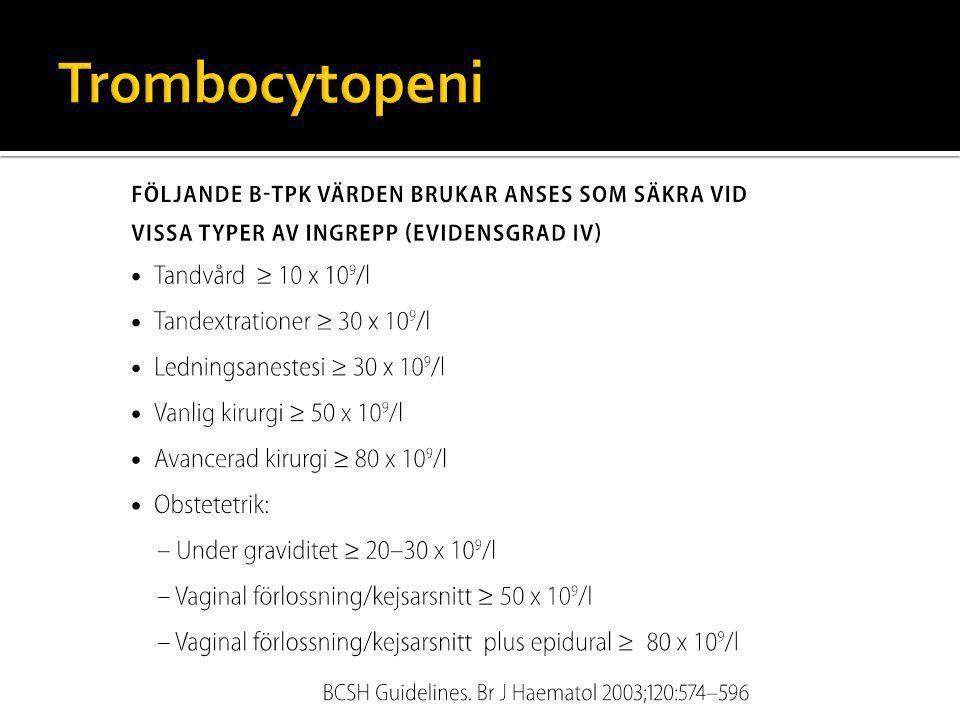 Trombocytopeni