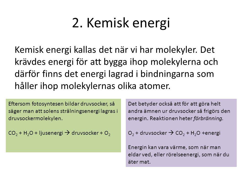 2. Kemisk energi