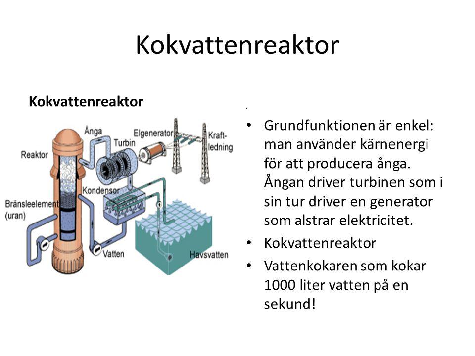 Kokvattenreaktor Kokvattenreaktor