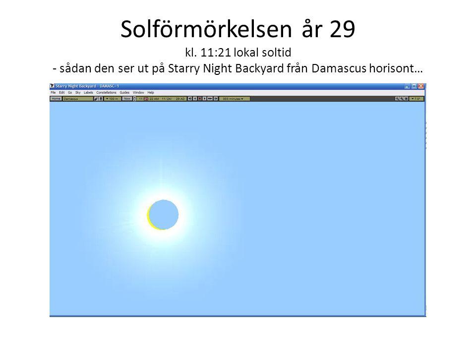 Solförmörkelsen år 29 kl.