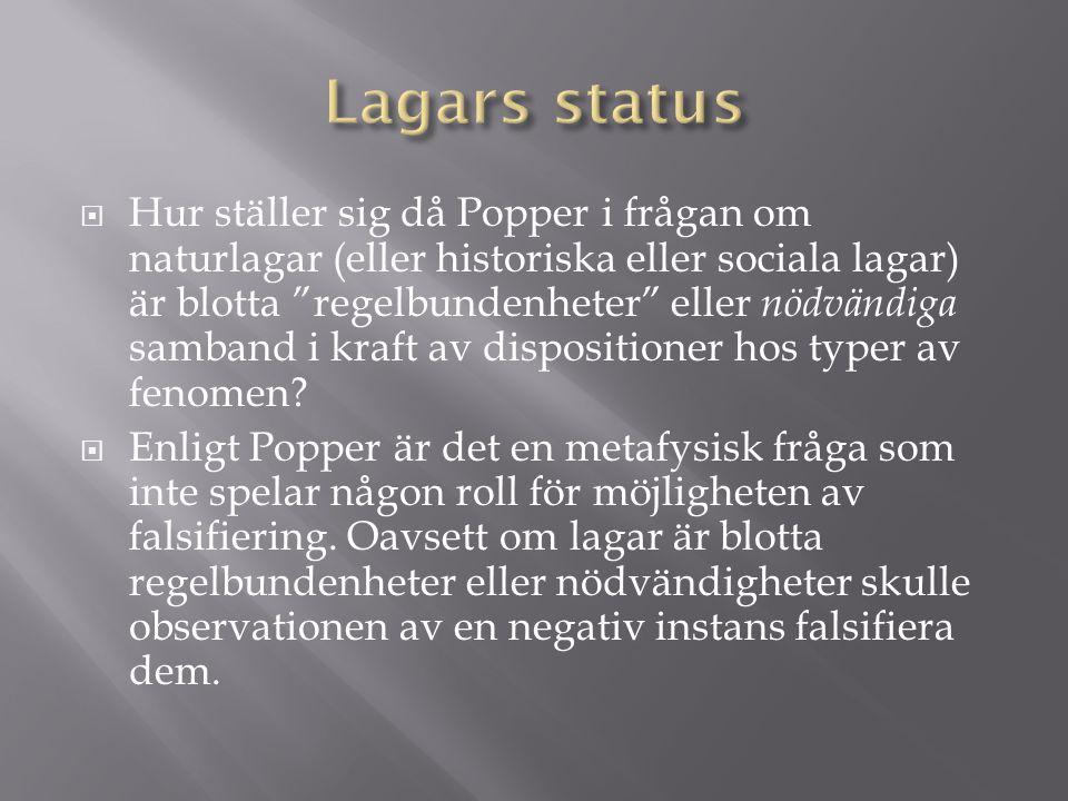 Lagars status
