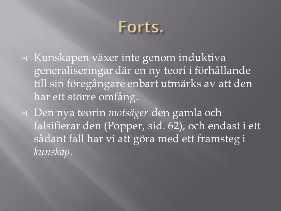 Forts.