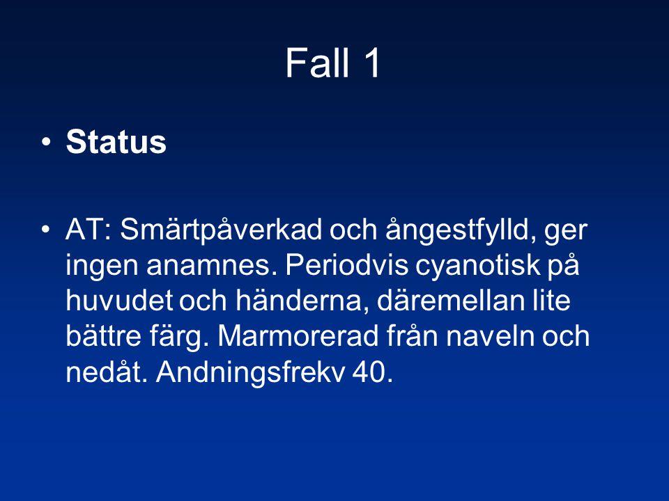 Fall 1 Status.