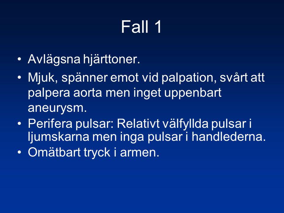 Fall 1 Avlägsna hjärttoner.