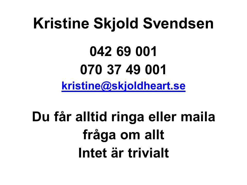 Kristine Skjold Svendsen