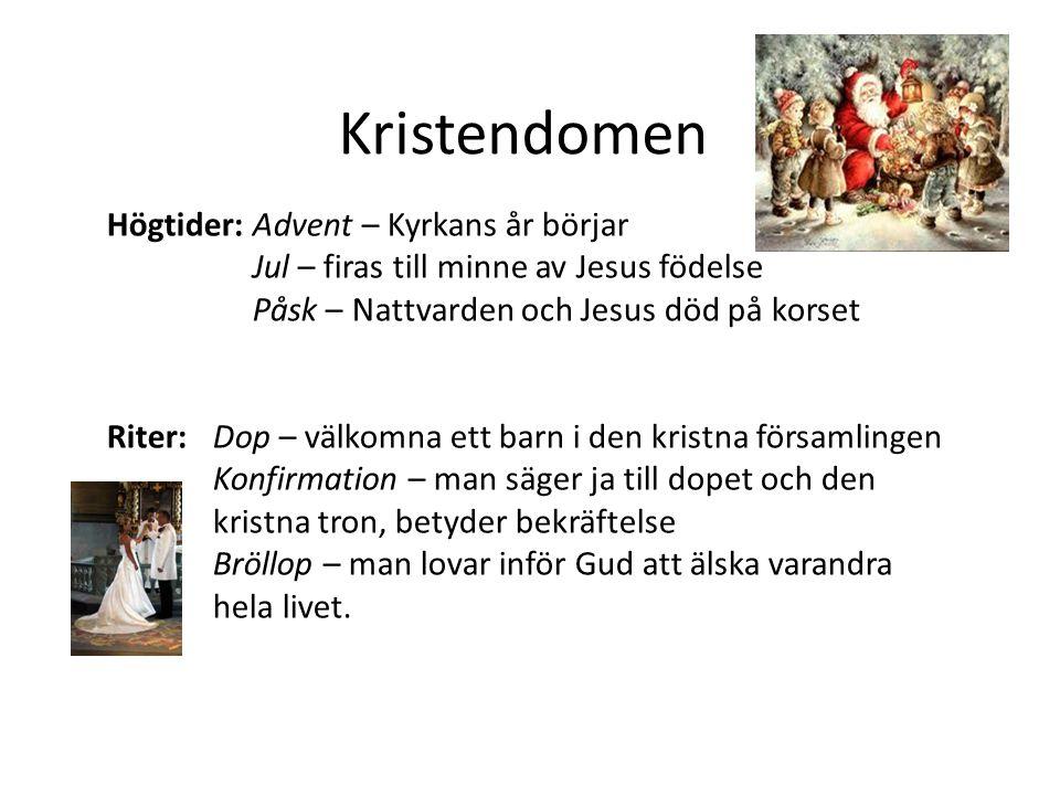 Kristendomen Högtider: Advent – Kyrkans år börjar