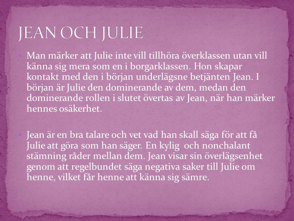 JEAN OCH JULIE